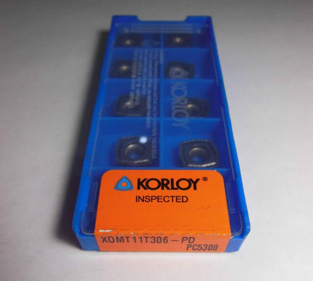 NEW Korloy SPMT 040204-PD PC3500 DRILLING CARBIDE INSERTS x10pcs