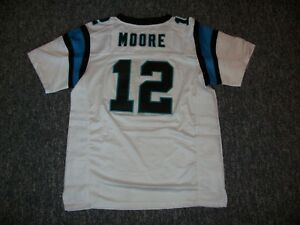 competitive price 4879a 4511b Details about D.J. MOORE Unsigned Custom Sewn New Carolina Football Jersey  Size S, M,L,XL,3XL