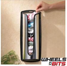 Portador plástico bolsa de almacenamiento titular Dispensador Tienda reciclar Bolsas De Acero Inoxidable