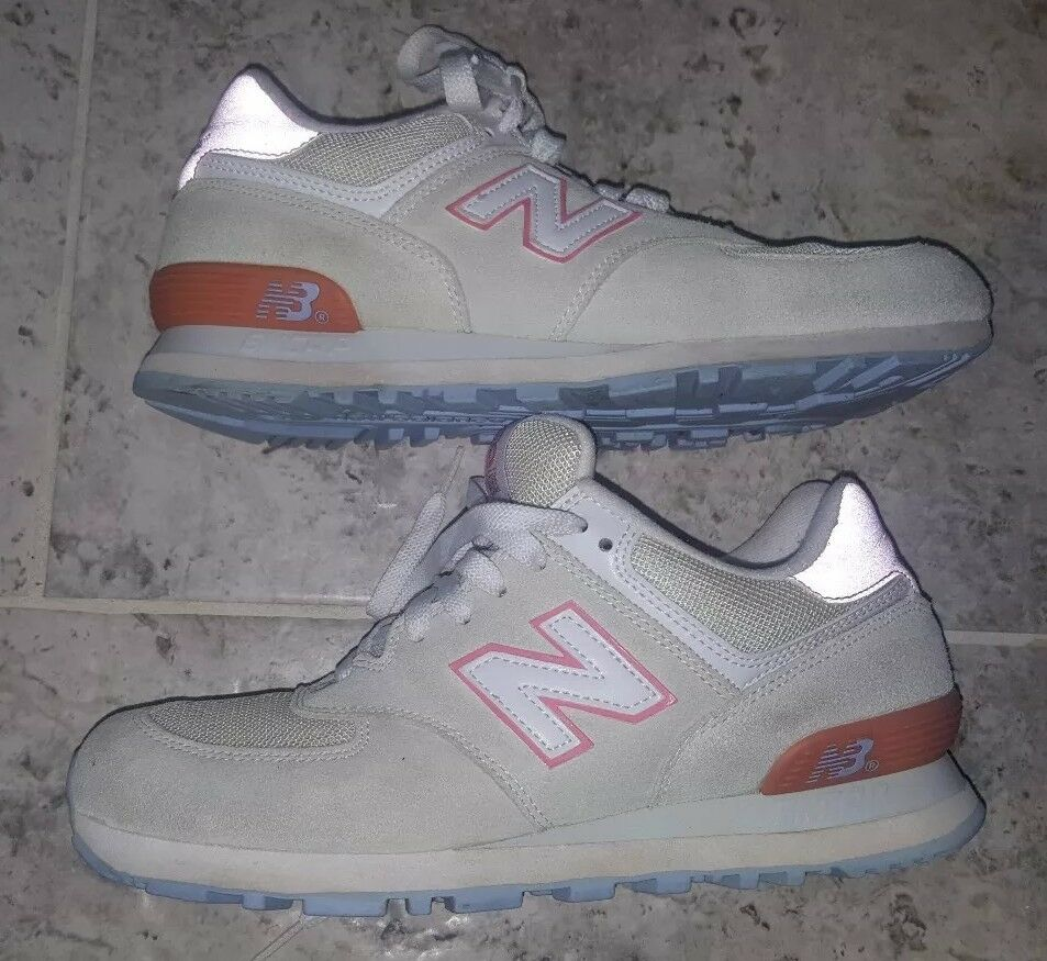 AWESOME COLOR COMBINATION NEW BALANCE 574 WOMEN'S SIZE US10 UK8 RARE