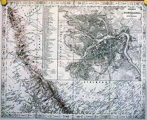 Antique-map-St-Petersburg-Grundriss-von-St-Petersburg