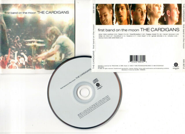 """THE CARDIGANS """"First Band On The Moon"""" (CD) 1996 (731453335721)"""