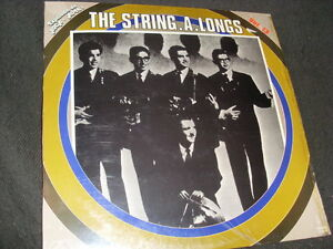 "12"" LP - THE STRING-A-LONGS - same - Alligator Rec. 51.8017(1982 Spain) - Deutschland - 12"" LP - THE STRING-A-LONGS - same - Alligator Rec. 51.8017(1982 Spain) - Deutschland"