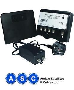 Vision-Optima-MA20-4lte-4-TV-Way-Masthead-TV-Amplifier-Free-F-Plugs-Wiring-Diag
