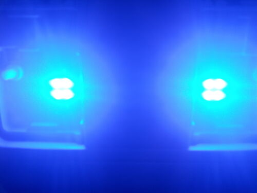 "2 x Bright Blue LED 1.25/"" 31mm 4-SMD 3021 DE3022 Interior Map Dome Light Bulbs"