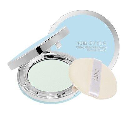 [MISSHA] The Style Wear Sebum-Cut Pressed Powder (#01 Clear Mint) 11g