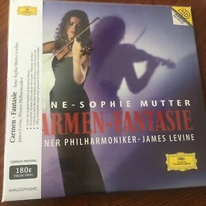 Anne Sophie Mutter Carmen Fantasie Sealed 2xlp Audiophonic
