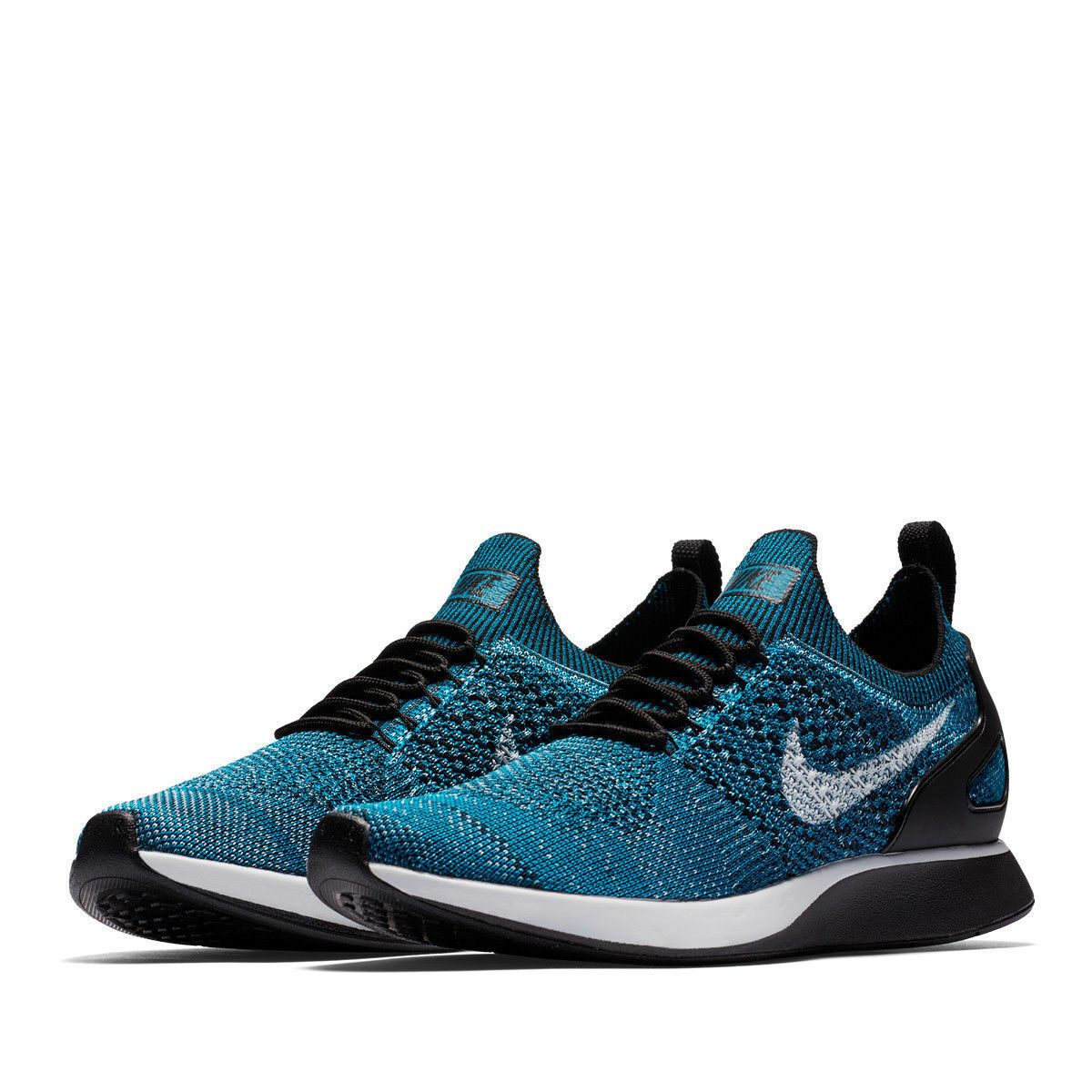 NEW Nike Men's Air Zoom Mariah Flyknit Racer shoes 918264 300 blueee size 12.5 1 2