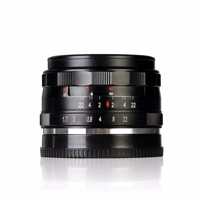 Meike MK-E-35-1.7 35mm f/1.7 Large Aperture Manual Focus lens APS-C For Sony