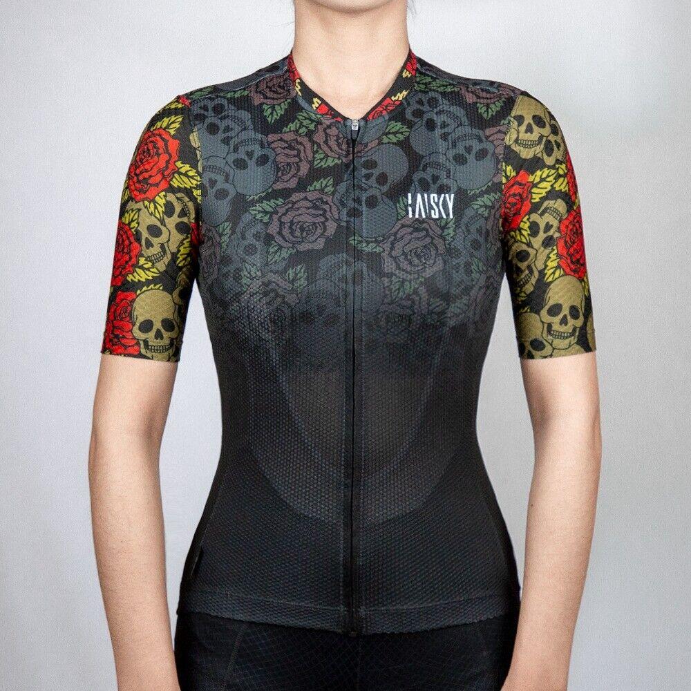 Baisky Cycling Sportswear-Jersey-Women-Skull Rider (T2349G)