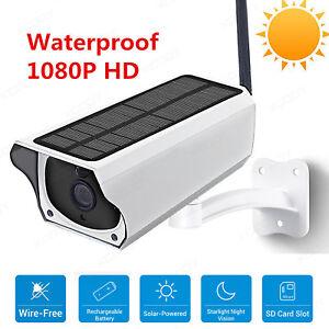 WiFi-Wireless-Outdoor-Solar-Security-IP-Camera-Surveillance-Night-Vision-Network