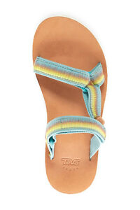 13530e6e2 TEVA 8 39 SANDAL FLIP FLOPS SHOES  70 Original Universal Slide Blue ...