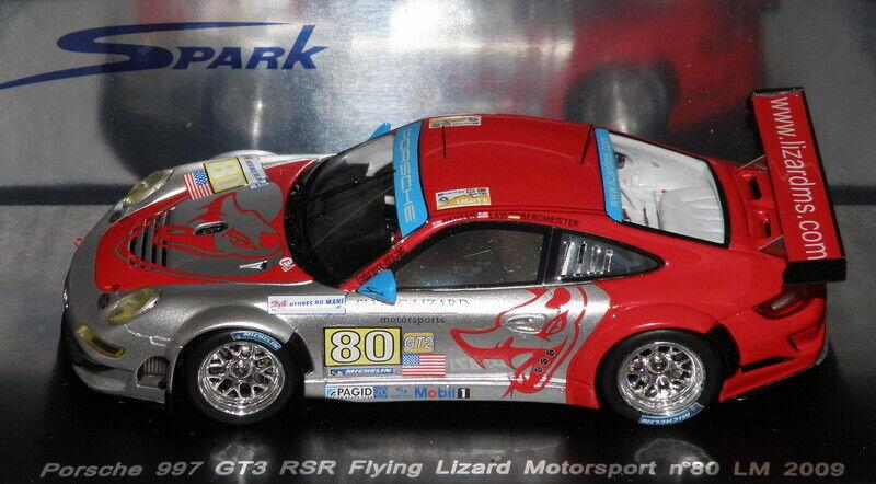 Porsche 911 997 GT3 RSR 24H du MANS LM 2009 SPARK 1 43   S1956