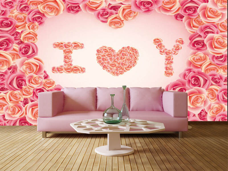 Peaceful Pulpy Heart 3D Full Wall Mural Photo Wallpaper Printing Home Kids Decor