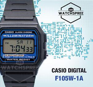 newest c93ec 3e80f Details about Casio Digital Watch F105W-1A