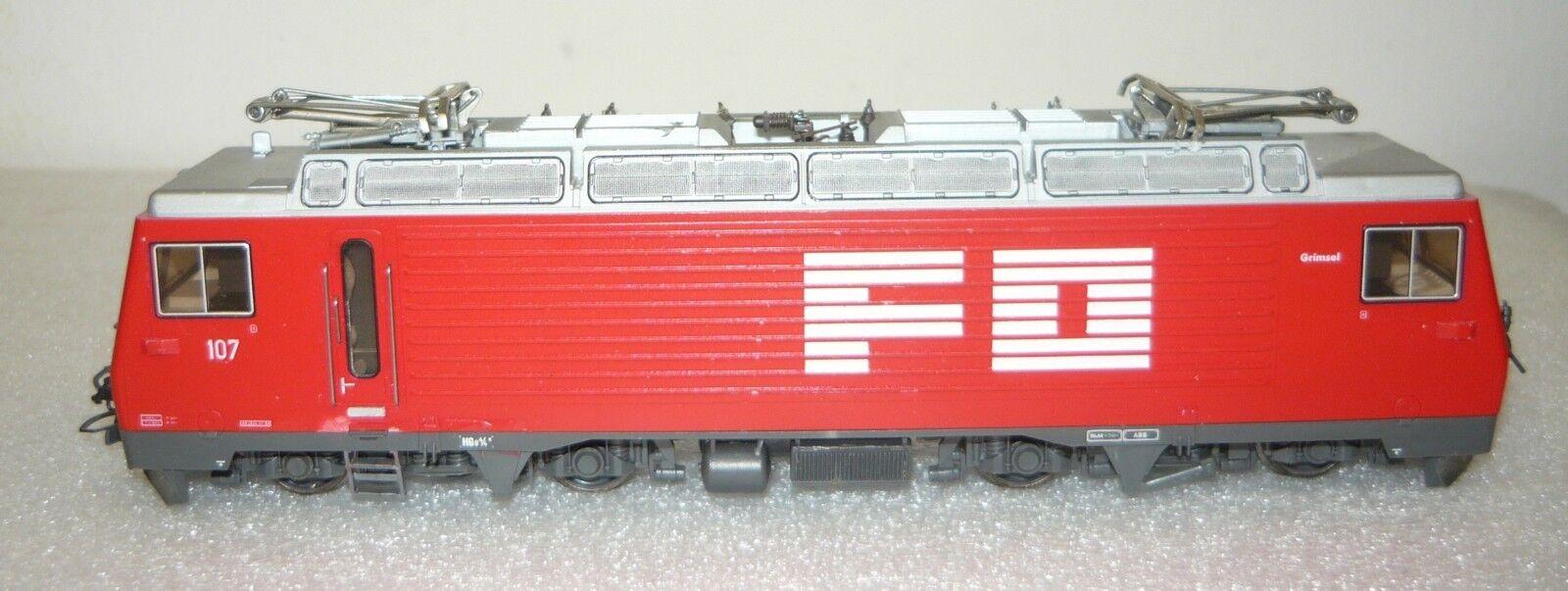 BEMO (1262207), ELLOK H GE 4 4 II  107 della fo,  Grimsel , h0e, usati & senza imbtuttiaggio originale