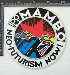 VINTAGE MAMBO AUSTRALIA REG MOMBASSA RETAIL SURF SHOP ADVERTISING PROMO STICKER