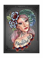 Marked In Ink: A Tattoo Coloring Book Free Shipping