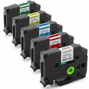 Compatible-P-Touch-Label-Maker-Tape-TZe231-12mm-Brother-P-Touch-Cube-PT-D600-5PK