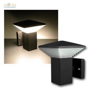 LED-Lampara-Pared-034-CTWD-60-034-blanco-calido-720lm-Aplique-de-entrada-antracita-11W