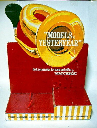 Matchbox models of yesteryear Display pour les modèles chrome 1969