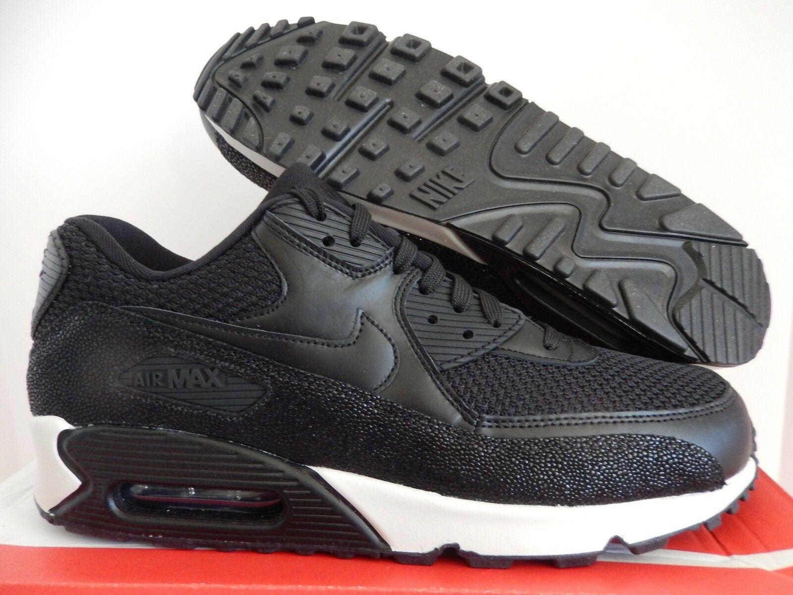 NIKE AIR MAX 90 Noir LEATHER PA