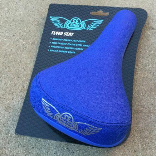 SE RACING FLYER RAILED SEAT BLACK BLUE OR RED BMX BIKES SEAT HARO GT REDLINE