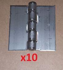 10 Pc Aluminum .075 Butt Hinge 2 x 2 Weld On//Door//Cabinet//Boat//Projects 1040