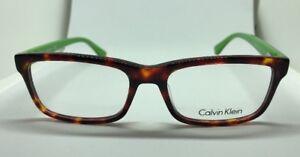 1139fb8cb6f CALVIN KLEIN CK-5820 213 Tort Green 52.17.135 Eyeglass Frames ...