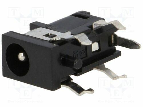 Buchse männlich zur DC-Stromversorgung 4//1,7mm  mit Schalter 1613 04 DC Steckver
