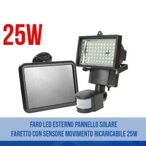 FARO-LED-ESTERNO-PANNELLO-SOLARE-FARETTO-CON-SENSORE-MOVIMENTO-RICARICABILE-25W