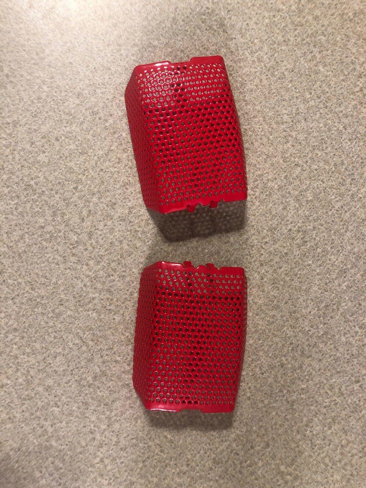 Harley Brembo Caliper COVERS Ultra Glide 08-18 42851-06 FLHTC RED powder coated