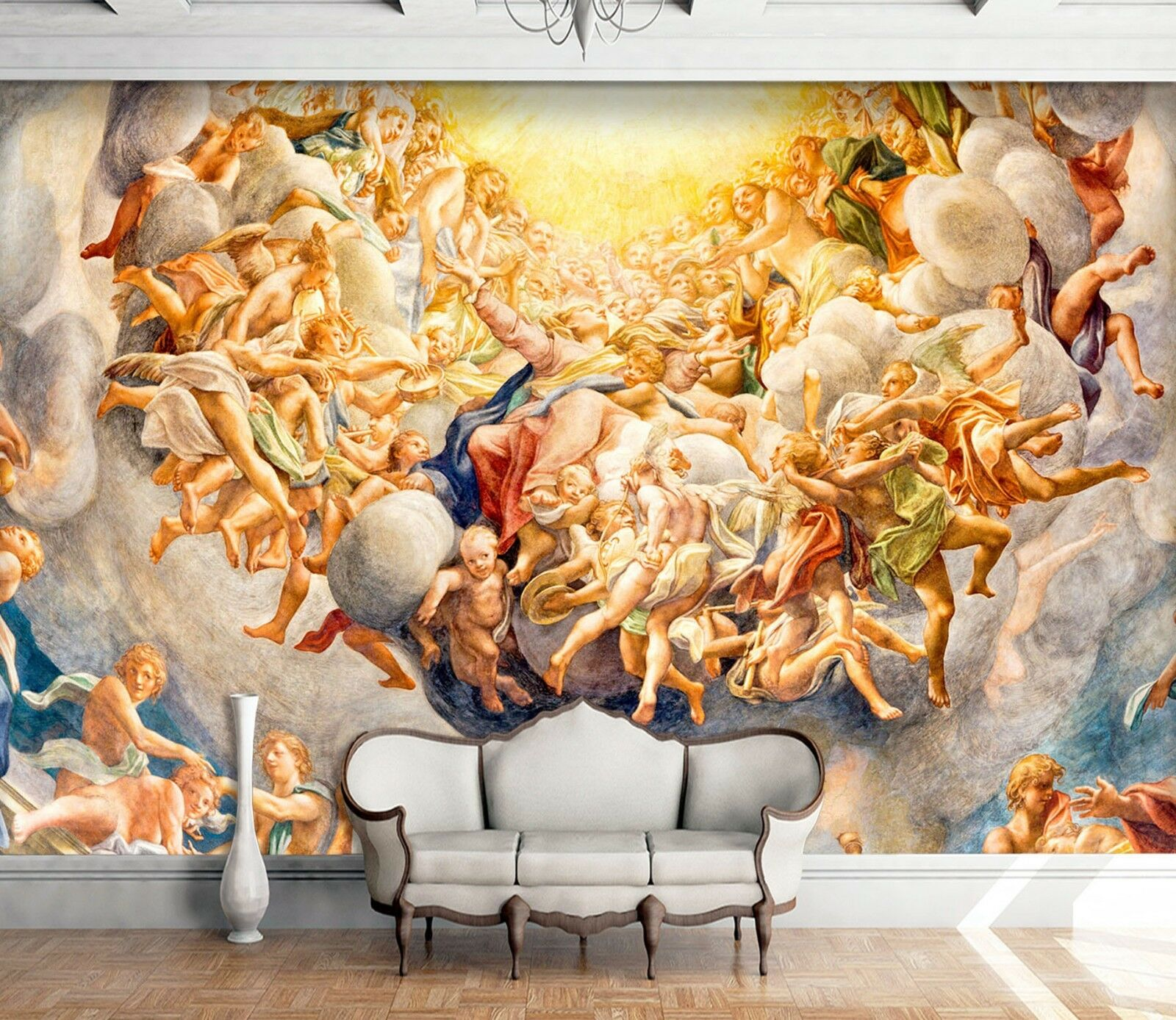 3D Europe Religious Person 5 Wall Paper Wall Print Decal Wall Deco Indoor Murals
