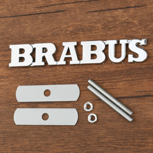 Metal BRABUS Grille Emblems Car Badge Sticker
