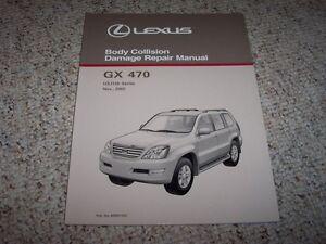 2003 lexus gx470 gx 470 body service repair manual 2004 2005 2006 rh ebay com 2004 lexus gx 470 owners manual 2004 lexus gx470 service manual download