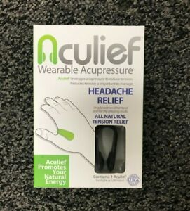 Aculief Headache Relief Wearable Acupressure Natural ...