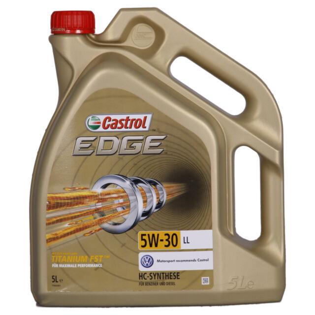 Castrol EDGE Titanium FST 5W-30 LL  5 Litre Can