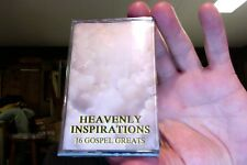 Heavenly Inspirations: 16 Gospel Greats- various artists- new/sealed cassette