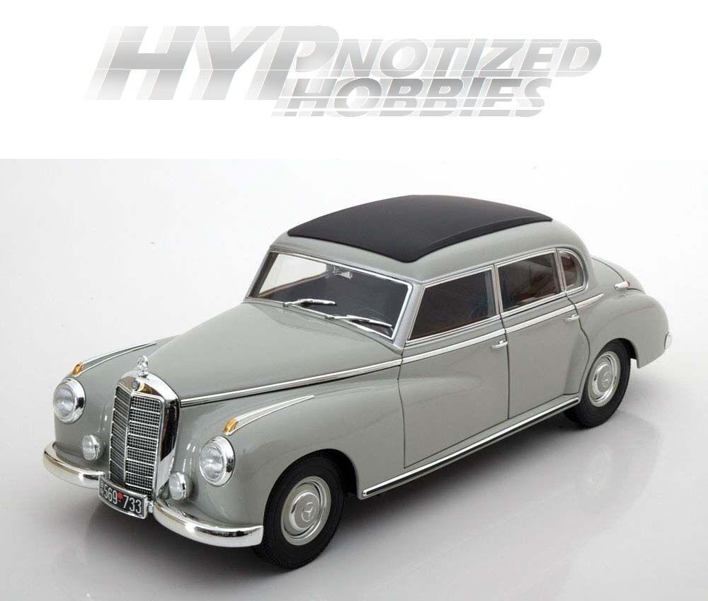 Norev 1 18 1955 Mercedes-Benz 300 Modellino grey 183578gry
