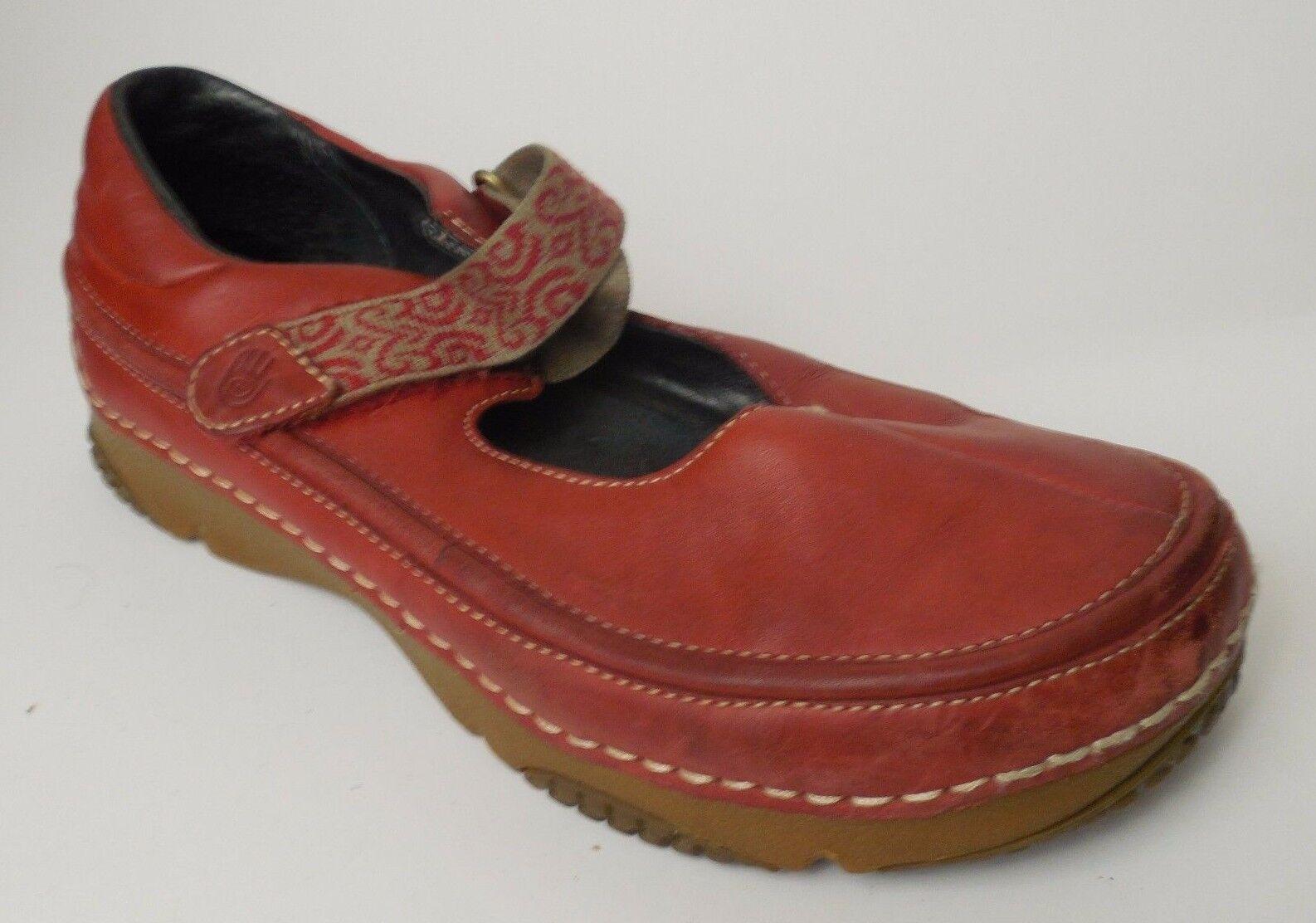 Teva Teva Teva Mary Jane  6538 Rojo para Mujer US 8 Med EU 39 de Cuero de Lona calzado de carrera Zuecos  Envío 100% gratuito