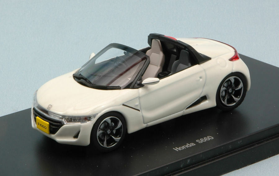 Honda S660 2015 bianca 1:43 Model 45357 EBBRO
