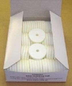 100-Original-Simo-ZDag-101-White-Polishing-Pads-NEW