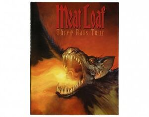 MEAT LOAF three bats tour 2007 tour programme 32 pages - <span itemprop=availableAtOrFrom>WREXHAM, United Kingdom</span> - Hi....This is our Returns Policy but firstly Thankyou for your purchase it is very appreciated, Our number one concern is that all our customers are happy with the goods & service from us - WREXHAM, United Kingdom