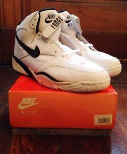 vintage nike air magnum force 3/4 basketball shoes men's size 10 deadstock NIB