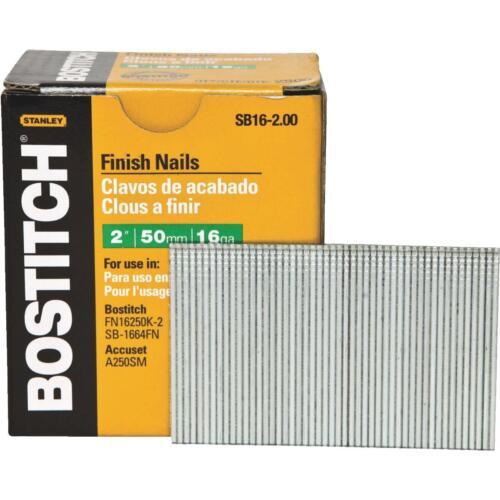"Bostitch 2/"" 16Ga Finish Nail"