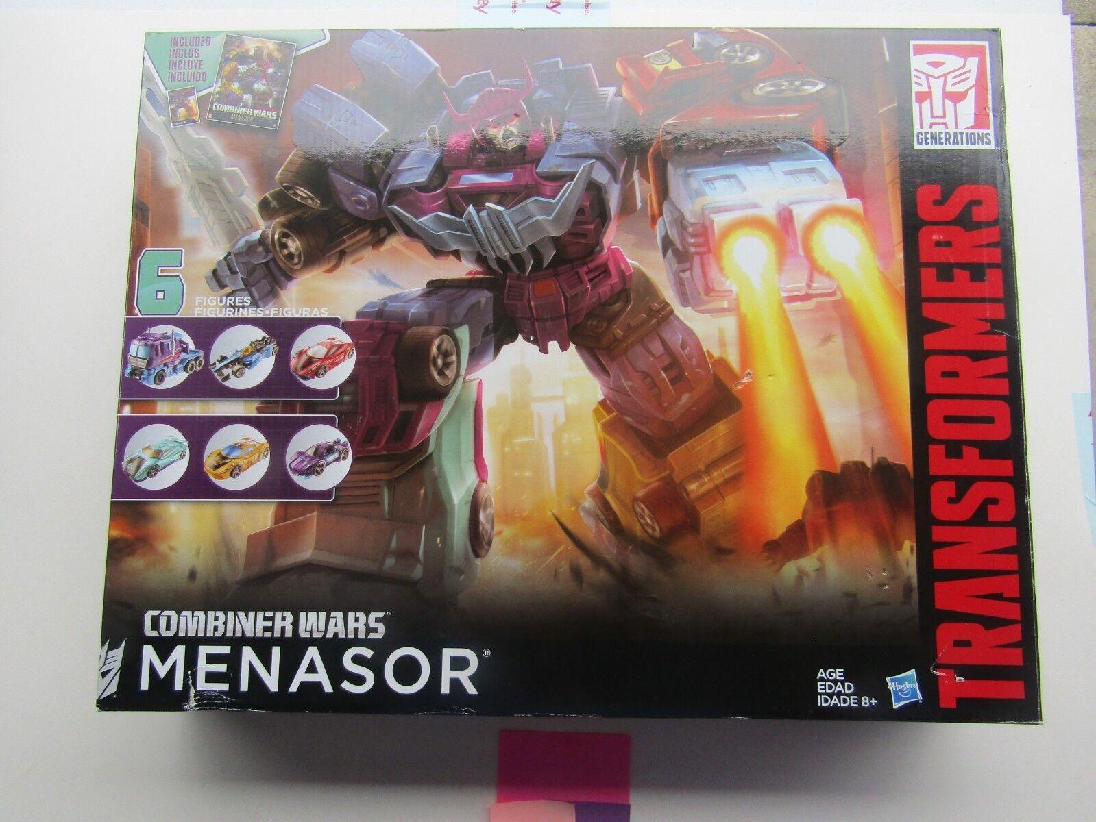 Hasbro Transformers Combiner Wars G2 Menasor
