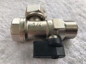 Baxi Combi 105E /& 105HE chaudière 22mm isolement débit robinet vanne 248224