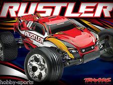 Traxxas Rustler Electric RTR Truck W/ XL-5 ESC 2.4Ghz Battery/Charger TRA370541