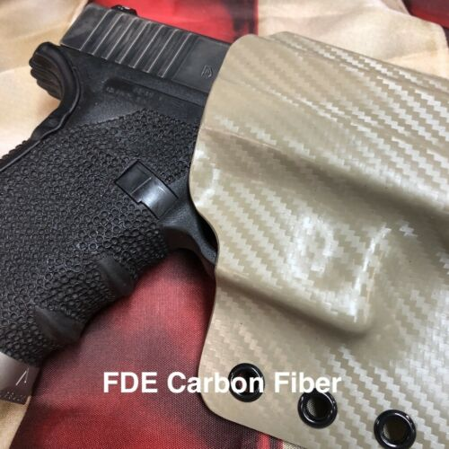 Paratus 2.0 Carbon Fiber OWB Tactical Holster for Most Ruger Models By 1441 Gear