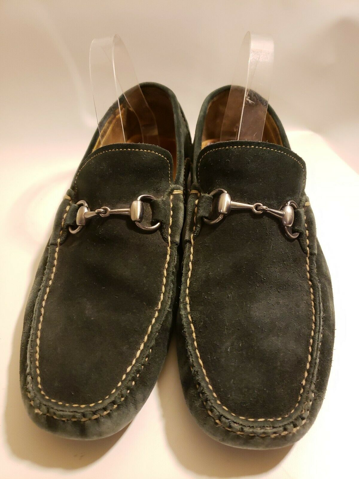 Peter Millar Men's Suede Leather Loafers Moccasin Driving shoes Size 8.5 M